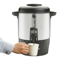Coffee Urn for Hot Chocolate Bar