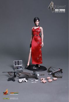 Hot Toys: Biohazard 4 HD - Ada Wong 1/6th scale Collectible Figure