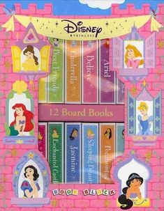 Book Block: Disney Princess by Erin Rose Wage, available at Book Depository with free delivery worldwide. Disney Princess Books, Disney Princesses, Pocahontas, Erin Rose, Believe, Books For Moms, 12th Book, Enchanted, Walt Disney