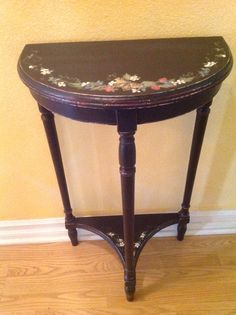Hand Painted Accent A Table