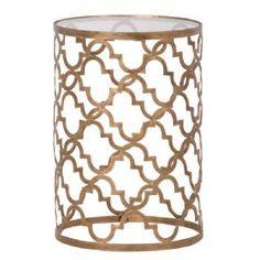 Moorish Gold Side Table h60, w40 175
