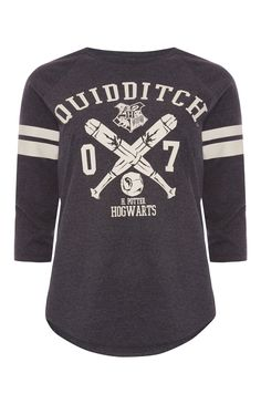 "Primark - ""Harry Potter Quidditch"" Raglan-T-Shirt"