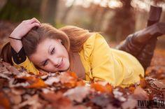 Portrait, Angelina, Wald, Herbst, Portrait, Shooting