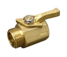 #Dramm brass shut-o? valve is a professional quality full flow valve. Made of brass for durability. Aluminum shut-off valve is identical to brass valve with ligh...