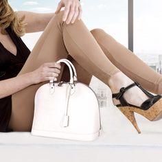 Louis Vuitton Alma GM Handbag