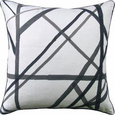 Channels Periwinkle Pillow 22x22 - Ryan Studio