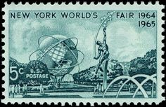 Make the 1964 New York World's Fair stamp come to life by watching this video:  http://www.youtube.com/watch?v=GA5LVf0p9TM=related