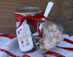 homemade gifts.  I like how this is packaged...makes a simple gift a real treat to receive!