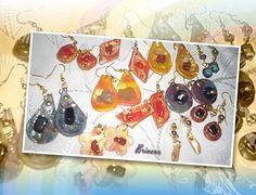 Brincos variados; coleção janeiro/15 - Bella Unic