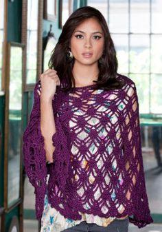 Free Bohemian Shawl Crochet Pattern