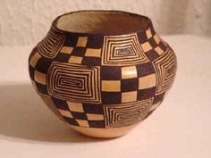 Lucy Lewis: Acoma Pottery