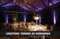 Lighting can make or break the look of your wedding reception read tips on how to get the right lighting at your #wedding here.. http://www.austinweddingday.com/article/lighting-and-media-trends-in-weddings/