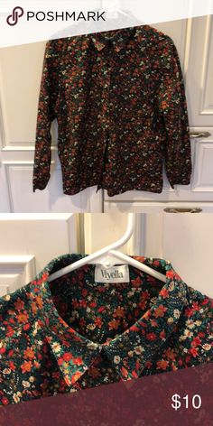 898ef7b30d Viyella Cotton Button Down Blouse Button down blouse that can be used  without ironing but a