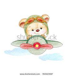 Teddy bear pilot