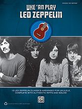 Sixteen classic Led Zeppelin songs, with all the guitar parts arranged for ukulele. The included CD contains full sound-alike backing tracks for play-along.  #music #learnmusic #ukulele
