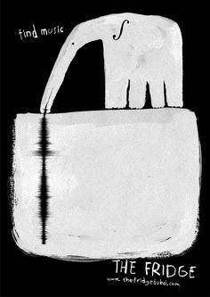 Campaign: Find Music: Dig Deep / Advertiser: The Fridge / Agency: TBWA/Raad Dubai / Country: UAE / Creative Director: Milos Ilic / Art Director: Milos Ilic & Meghan Cabral / Award: Illustration Cristal