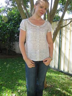 Dove sorbetto with peter pan collar