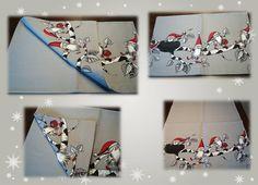 """**Weihnachts-Tischläufer"""" - Baumwichtel** von Elkes Kreativstübchen auf DaWanda.com Bereits verkauft."""