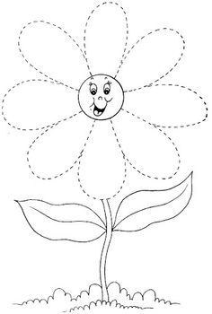 Crafts,Actvities and Worksheets for Preschool,Toddler and Kindergarten.Lots of worksheets and coloring pages. Preschool Writing, Preschool Learning Activities, Free Preschool, Preschool Printables, Kindergarten Worksheets, Preschool Activities, Tracing Worksheets, Worksheets For Kids, Flower Coloring Pages