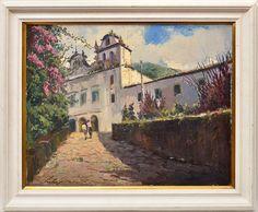 Carlos Gomes - (1934 - R.J - 1990 - R.J) - paisagem com..