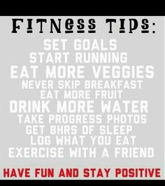 Fitness Tips! Always stay positive and remember your reason for doing it. #fitnesstips #staypositive #keepgoing