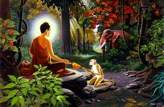 When you throw away the left overs of your food, do it thinking that, these I give to the hungry animals. That merit can be beneficial for you, for hundred lives to come… Buddha Life, Buddha Zen, Gautama Buddha, Buddha Buddhism, Buddhist Monk, Buddhist Art, Buddhist Philosophy, Buddha Tattoos, Buddha Painting
