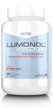 Lumonol Wisdom - The Real Life Limitless Pill? The Ultimate Memory and Clarity Boosting Supplement for Seniors.