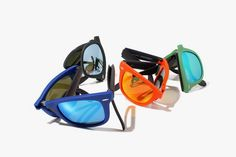 Ray-Ban Unisex Folding Wayfarer Sunglasses - £175.00