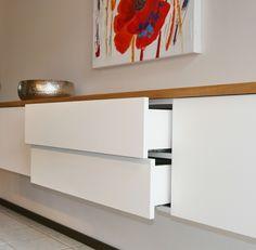 Hervorragend Sideboard Hängend Weiss Mehrere Schubladen