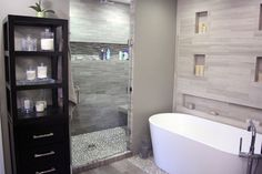 Spa Master Bathroom - modern - Bathroom - Bridgeport - Dahlstrom And Sons LLC