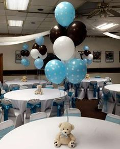 Cute centerpiece idea for baby shower #babyshowerdecorations