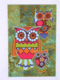 I have a new obsession with owls...I LOVE this.