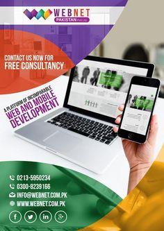 Webnet- A Platform of Incomparable Web and Mobile Development.. Contact us : 021-35950234, 021-35950342 http://webnet.com.pk info@webnet.com.pk