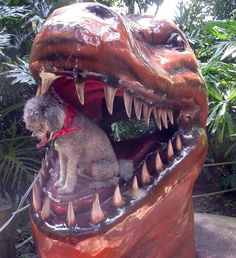 In honor of Jurassic World, check out Dinosaur World with Fido in Cave City, KY!