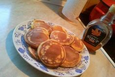 Americké lívance American Pancakes, Czech Recipes, Crepe Cake, Mille Crepe, Crepes, Thanksgiving, Sweets, Eat, Cooking