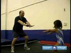 Trampoline Exercises for Preschool Gymnastics