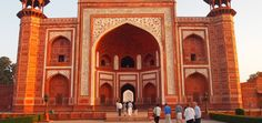 Full-Day Agra Tour Taj Mahal, Agra Fort, and Fatehpur Sikri Honeymoon Vacations, Best Vacations, Jaipur, The Places Youll Go, Cool Places To Visit, South India Tour, Delhi City, India Holidays, Honeymoons