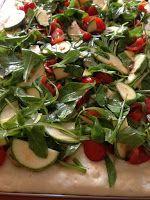 La Zucca Golosa: Focaccia di patate alle verdure dell'orto