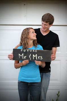 Cute Engagement Photo