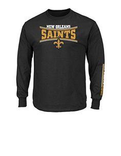 NFL New Orleans Saints Men's Tackle Trap Long Sleeve Crew... https://www.amazon.com/dp/B01ESVVWFS/ref=cm_sw_r_pi_dp_x_f-GeybQMHP176