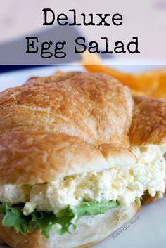 Deluxe Egg Salad - NumsTheWord