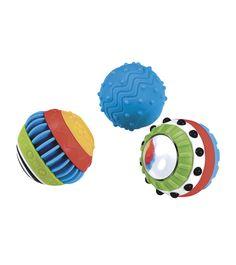 Развивающие сенсорные мячи