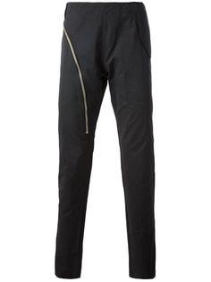 RICK OWENS Zip Detailed Skinny Trouser