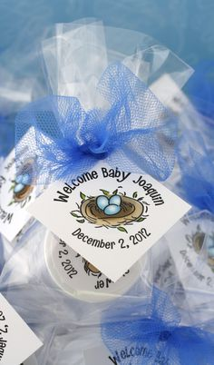 Getting ready for the new addition with a nesting shower? These cute favors are a great way to say thank you to your guests! Choose your lip balm flavor and colors, to match your baby shower theme.