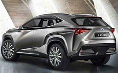 2018 Lexus NX F Sport Concept Rear Angle