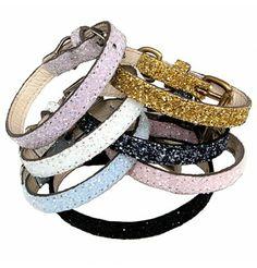 Plain-n-Simple Chunky Glitter Collar Collection