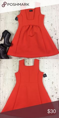 Nasty Gal hot red dress Nasty Gal hot red dress polyester and spandex blend Nasty Gal Dresses