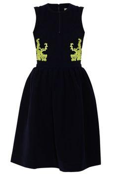 PREEN - Navy Audra Dress | Boutique1.com