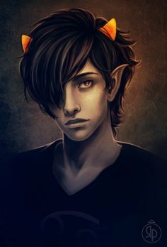 Karkat stop beiing attractiive, Kay? You aren't real and Ii 2houldn't have a cru2h on you.