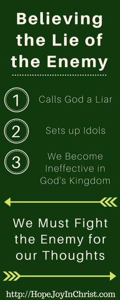 3 Urgent Reasons to Fight The Enemy For Our Thoughts LongPin